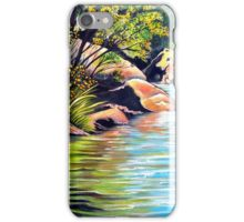 Jellybean Pool, Blue Mountains iPhone Case/Skin