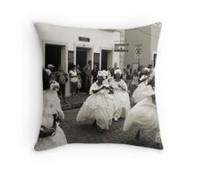 Carnaval Pre-Parades, Salvador Throw Pillow