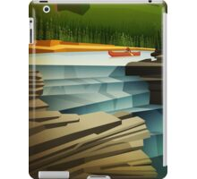 A quiet day on the river is about to get interesting iPad Case/Skin