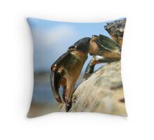 Crabs Claw Throw Pillow