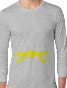 Judo Yellow Belt Long Sleeve T-Shirt