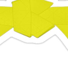 Judo Yellow Belt Sticker