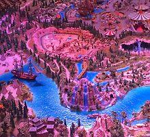 Disneyland Model by disneywithbella