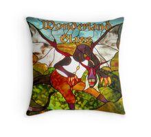 Jabberwock Throw Pillow