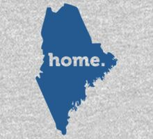 Maine Home Blue by USAswagg