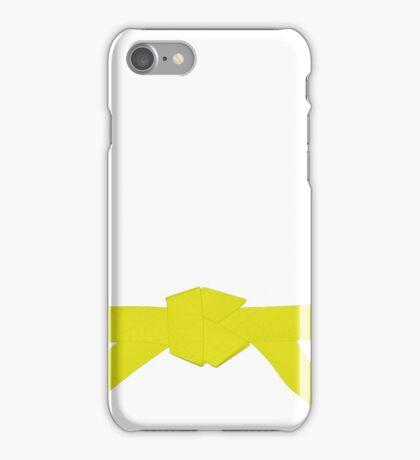 Judo Yellow Belt iPhone Case/Skin