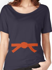 Judo Orange Belt Women's Relaxed Fit T-Shirt
