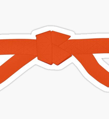 Judo Orange Belt Sticker