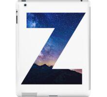 The Letter Z - night sky iPad Case/Skin