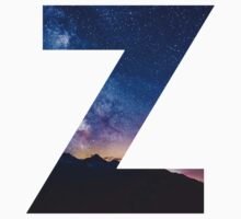 The Letter Z - night sky Kids Clothes