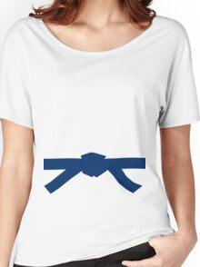 Judo Blue Belt Women's Relaxed Fit T-Shirt