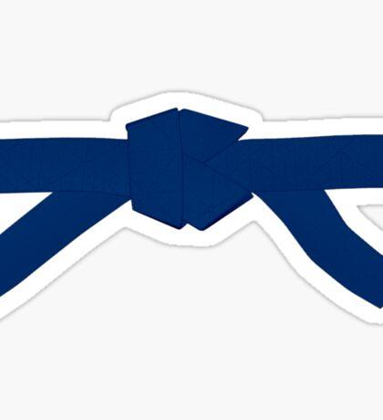 Judo Blue Belt Sticker