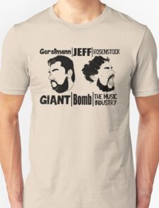 Giant/Bomb/The Music Industry Unisex T-Shirt