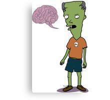 Zombie Kid Canvas Print