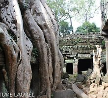 A Tree Grows over a Temple by signaturelaurel