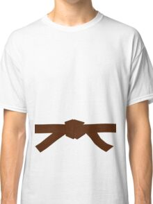 Judo Brown Belt Classic T-Shirt