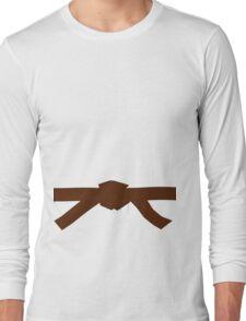 Judo Brown Belt Long Sleeve T-Shirt