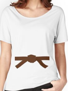 Judo Brown Belt Women's Relaxed Fit T-Shirt