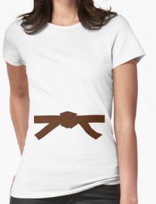 Judo Brown Belt Womens Fitted T-Shirt