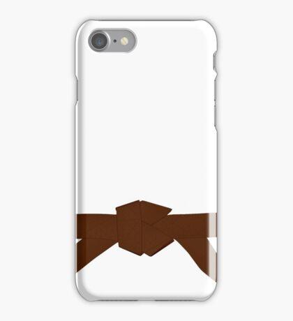 Judo Brown Belt iPhone Case/Skin