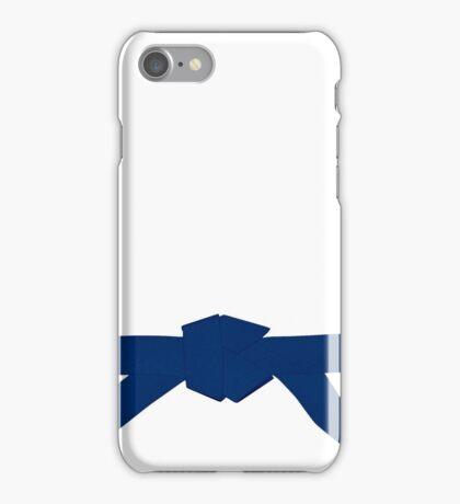 Judo Blue Belt iPhone Case/Skin