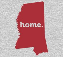 Mississippi Home Red by USAswagg