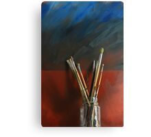 Artists Brushes Canvas Print