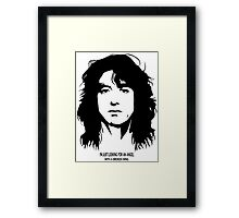 Jimmy Page New Framed Print
