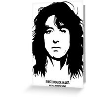 Jimmy Page New Greeting Card