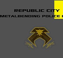 Republic City Metalbending Police Force by Archer23