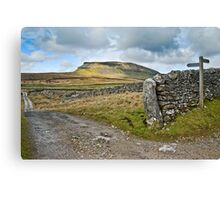 Penyghent, The Yorkshire Dales Canvas Print