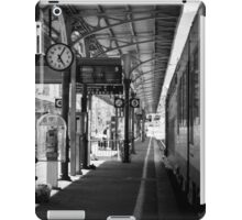 Waiting on the 5:20 from Ventimiglia to Cannes iPad Case/Skin