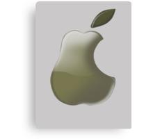 Pear: I wanna be a Logo 2!!!! Canvas Print