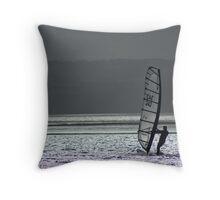 The Windsurfer Throw Pillow
