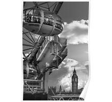 Prepare for Launch - London Eye Poster