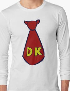 DK Donkey Kong Tie Long Sleeve T-Shirt
