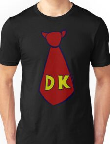 DK Donkey Kong Tie Unisex T-Shirt
