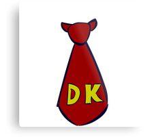 DK Donkey Kong Tie Metal Print