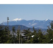 Here's looking at you Mt Layfayette!   Photographic Print