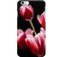 STARRED PINK TULIPS iPhone Case/Skin