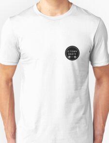 C. Town Skate Small badge Unisex T-Shirt