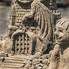 Sandcastle detail by Celeste Mookherjee