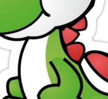 Paper Yoshi Sticker