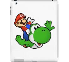 Paper Mario And Yoshi iPad Case/Skin
