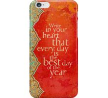 Write in Your Heart... iPhone Case/Skin