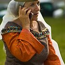 Medieval Phone Call by AmyRalston
