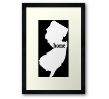New York Home Tshirts - Custom Clothing Framed Print