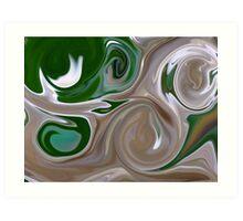 beautiful white hyacinth Art Print