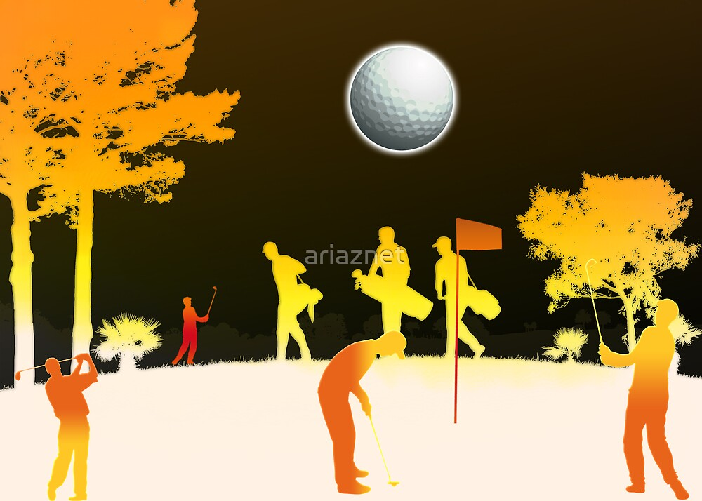 golf by ariaznet