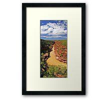 Murchison River Gorge - Western Australia  Framed Print